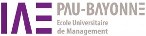 LOGO IAE PAU BAYONNE COULEUR