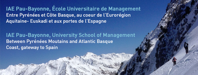 IAE Pau-Bayonne, Ecole Universitaire de Management