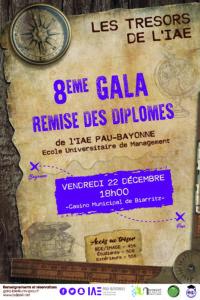 Remise de diplômes 2017 et 8ème Gala @ Casino Municipal de Biarritz