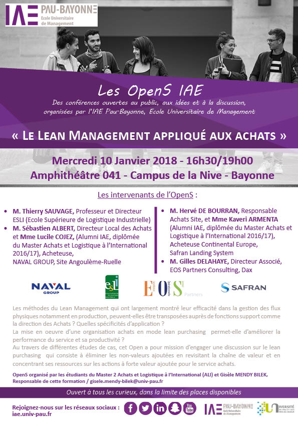 formation logistique bayonne