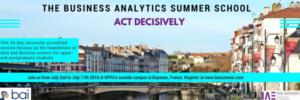 Summer School : Big Data @ IAE Pau-Bayonne, campus de la Nive à Bayonne | Bayonne | Nouvelle-Aquitaine | France